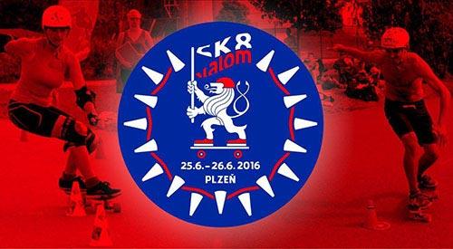 Znak Sk8 Slalom Plzeň