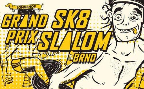 Znak Grand Prix Sk8 Slalom Brno