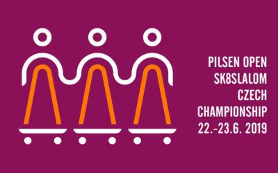 Pilsen open skateslalom Czech Championship 2019